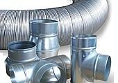 015_Semivac, potrubí pro vzduchotechniku