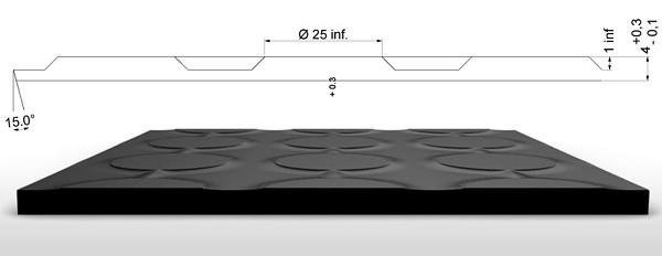 Pryžové koberce-S8-výkres