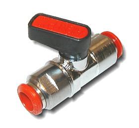 Aignep-kulový kohout s připojením na trubičku