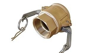 Kamlok rychlospojka-D (mosaz)