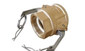 Kamlok rychlospojka-DD (mosaz)