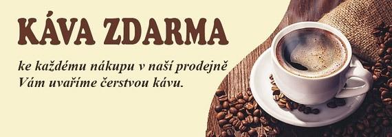 Káva v Konektu zdarma